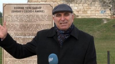 Ecdat yadigârı 'Edirne Sarayı' ayağa kalkıyor