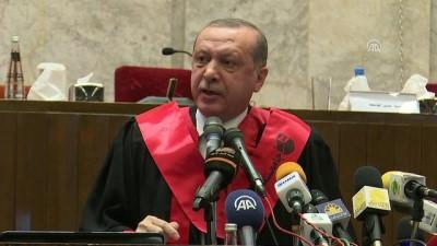 """Cumhurbaşkanı Erdoğan: """"Sömürgecilerin oyununa gelirsek asıl o zaman kaybederiz"""" - HARTUM"""