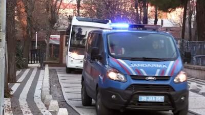 FETÖ sanığı polislerin 'usulsüz dinleme' davası başladı - KIRKLARELİ