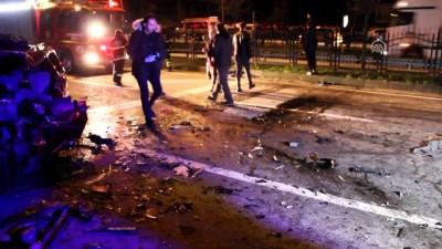 Polisten kaçarken kazaya yol açtı - GİRESUN