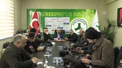 'Süper Lig'i sonuna kadar kovalayacağız' - GİRESUN