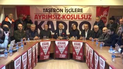 Taşeron işçilere sürekli işçi kadrosu verilmesi - DİSK Genel Başkanı Beko - İSTANBUL
