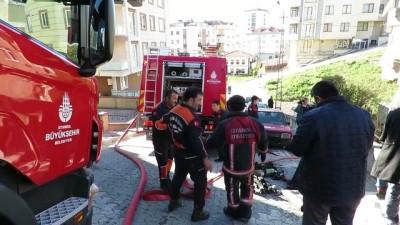 Ataşehir'de gecekondu yangını - İSTANBUL
