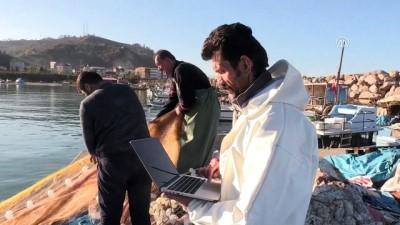 Doğu Karadenizli balıkçılar, AA'nın 'Yılın Fotoğrafları' oylamasına katıldı - GİRESUN