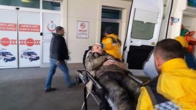 Düzce'de kanalizasyon çalışması sırasında 2 işçi yaralandı