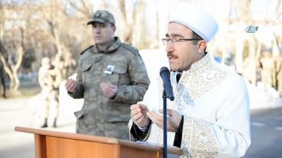 Erzurum'da 21 gündür tedavisi süren asker şehit oldu