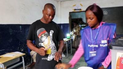 Liberya'da devlet başkanlığı seçiminin ikinci turu - MONROVIA