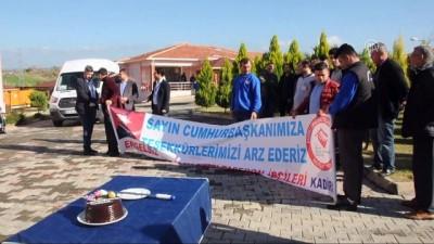 olaganustu hal - Taşeron işçilerden davullu zurnalı kutlama - OSMANİYE