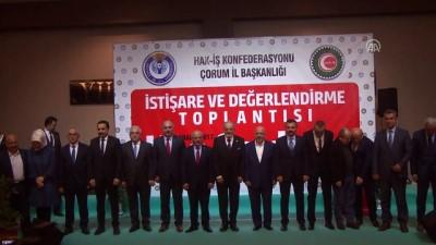 olaganustu hal - Taşeron işçilere sürekli işçi kadrosu verilmesi - Hak-İş Genel Başkanı Arslan - ÇORUM