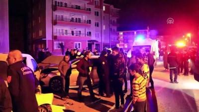 ebic - Zincirleme trafik kazası: 4 yaralı - ÇANKIRI