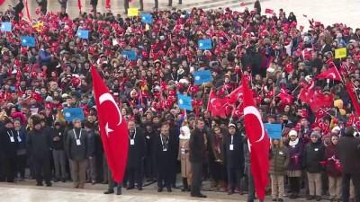 Atatürk'ün Ankara'ya gelişinin 98. yıl dönümü - Anıtkabir