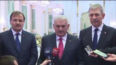 Başbakan Yıldırım: 'Suudi Arabistan-Türkiye, bölgede kalıcı barışın, istikrarın hakim olması için iki kilit ülkedir' - RİYAD