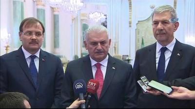 """-  Başbakan Yıldırım: """"Suudi Arabistan Ve Türkiye Bölgede Barışın Hakim Olması İçin İki Kilit Ülkedir"""""""