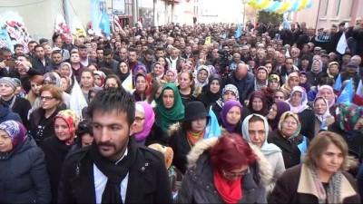 Meral Akşener, Kırşehir'de İYİ Parti teşkilatı açılışına katıldı
