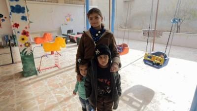 Türkiye Diyanet Vakfı'ndan savaş mağduru engelli çocuklara yardım eli