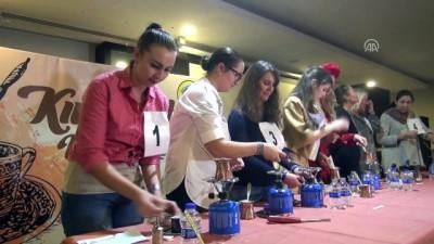 Yabancı gelinler en iyi Türk kahvesini yapmak için yarıştı - ANTALYA