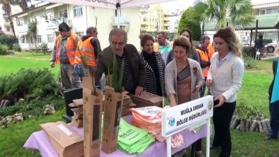 'Ağaç Kesme Fidan Dik' kampanyası - MUĞLA