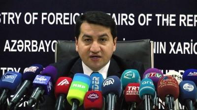 Azerbaycan'dan AGİT Minsk Grubu'na çağrı - BAKÜ