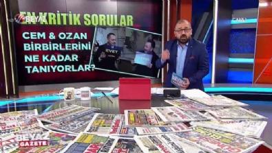 Cem Yılmaz ile Ozan Güven'e kritik sorular