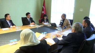 Çin Komünist Partisinden AK Parti'ye ziyaret - ANKARA