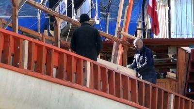'Ekmek tekneleri' mavi tura hazırlanıyor - MUĞLA