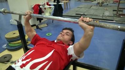 Engelli haltercilerin gözü Avrupa Şampiyonası'nda - ANTALYA