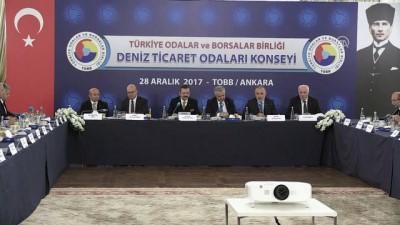 Hisarcıklıoğlu: ''Denizcilikte 'lider denizci ülkeler' arasına girmeliyiz' - ANKARA