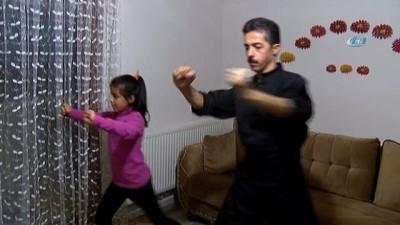 İranlı şampiyon baba ve kızı Türkiye için dövüşmek istiyor