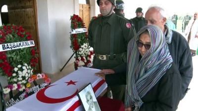 Kıbrıs şehitlerine 43 yıl sonra cenaze töreni - LEFKOŞA