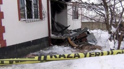Konya'da ev yangını: 4 ölü (1)