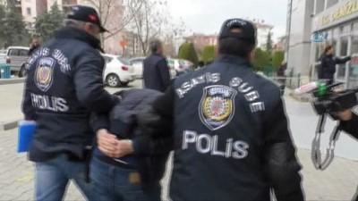 Patronunu darp edip 30 bin TL'sini gasp eden şahıs tutuklandı