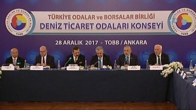 TOBB Deniz Ticaret Odaları Konseyi toplandı