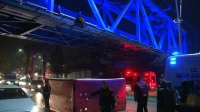 Daha önce de intihara kalkışan şahıs bu kez köprüden atladı