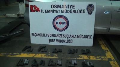 Osmaniye'de suikast silahı ele geçirildi