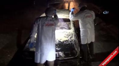 cinayet - Kütahya'da yanmış otomobilde 2 ceset bulundu