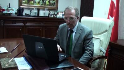 AA'nın 'Yılın Fotoğrafları' oylaması - Bartın Üniversitesi Rektörü Prof. Dr. Uzun - BARTIN