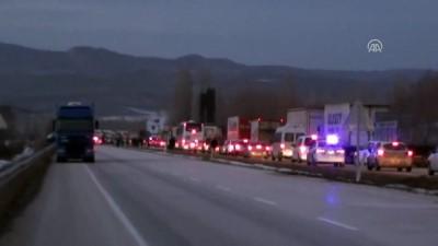 Çorum'da ambulans kaza yaptı: 1 ölü, 3 yaralı