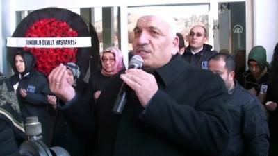 Çorum'daki ambulans kazası - Ölen sağlık memurunun cenazesi defnedildi