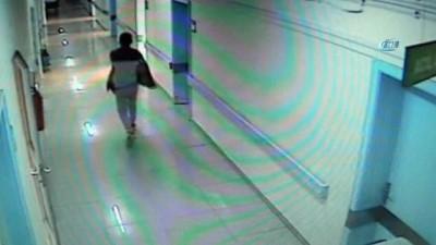 televizyon -  Hastaneyi 4 kez soymaya gelen hırsız kamerada