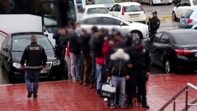 Muğla merkezli fuhuş ve insan ticareti operasyonu - 15 zanlı tutuklandı - MUĞLA