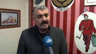Ankara İtfaiyesi yeni yıla görev başında girdi
