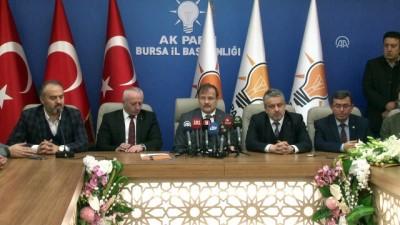 Başbakan Yardımcısı Çavuşoğlu - Yeni asgari ücret ve taşeron düzenlemesi - BURSA
