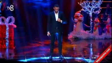 Cenk Tosun'dan O Ses Türkiye Yılbaşı Özel performansı