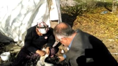 Gaziantep'te hindiler elde kaldı