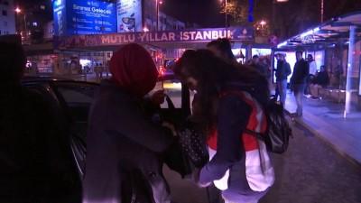 İstanbul'da yılbaşı tedbirleri - Beşiktaş'ta  güvenlik önlemleri - İSTANBUL