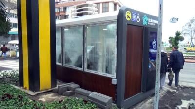 Tekirdağ'da vatandaş soğukta otobüs beklemeyecek