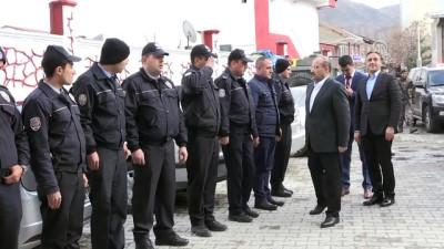 guvenlik gucleri - Vali Ustaoğlu'ndan güvenlik güçlerine moral ziyareti - BİTLİS