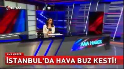 soguk hava dalgasi - İstanbul'da hava buz kesti