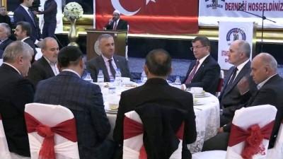 Eski Başbakan ve AK Parti Konya Milletvekili Davutoğlu - KARAMAN