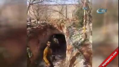 DAEŞ'in dev tüneli ortaya çıktı